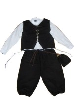 Boys Tudor Victorian Costume Age 8 - 10 Years
