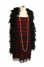 Ladies 1920s 1930s Flapper Charleston costume Size 8 - 10 Image