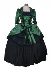 Ladies 18th Century Marie Antoinette Masked Ball Costume Size 10 - 12