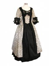 Deluxe Ladies 18th Century Marie Antoinette Masked Ball Costume 8 - 10 Image
