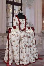 Deluxe Ladies 18th Century Marie Antoinette Masked Ball Costume Size 12 - 16
