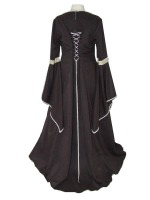 Ladies Medieval Tudor Costume And Headdress Size 20 - 24