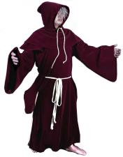 Mens Medieval Monk Costume