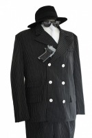 Men's 1920s 1930s Gangster Costume