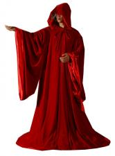 Mens Medieval Cloak Christmas Costume