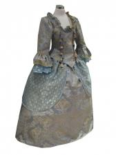 Deluxe Ladies 18th Century Marie Antoinette Costume Size 8 - 10