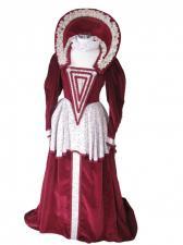 Ladies Medieval Tudor Elizabeth 1st Costume