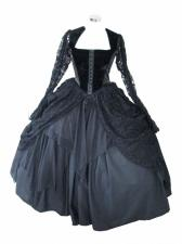 Ladies 18th Century Marie Antoinette Masked Ball Victorian Costume Size 8 - 10