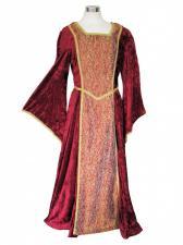 Ladies Petite Shorter Length Medieval Tudor Costume And French Hood Headdress Size 10