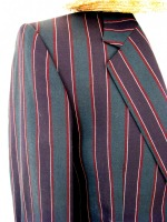 Men's 1920s 1930s Victorian Edwardian Boating Jacket Size Small - Medium