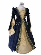 Girl's Deluxe Medieval Tudor Costume Age 5 - 6 Years