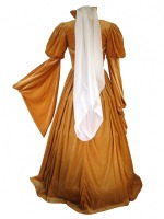 Ladies Medieval Tudor Anne of Cleves Costume and Headdress Size 8 - 10