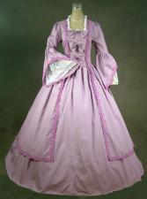 Ladies 18th Century Marie Antoinette Masked Ball Costume Size 14 - 16