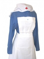 Ladies 1940s Vintage Wartime Nurse Uniform Size 18 - 20