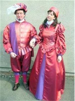 Men's Tudor Elizabethan Sir Walter Raleigh Costume