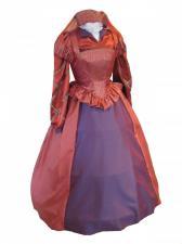 Ladies Tudor Elizabethan Costume and headdress