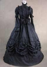 Ladies Victorian Edwardian Day Costume Size 8 - 10 Image