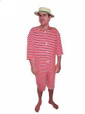 Men's Victorian Edwardian Bathing Suit
