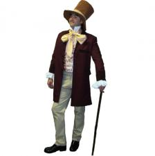 Men's Quality Willy Wonka Charlie and The Chocolate Factory Costume
