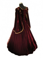Medieval Gown rear view