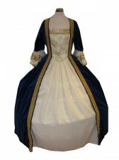 Deluxe Ladies 18th Century Marie Antoinette Masked Ball Costume Size 10 - 12 Image