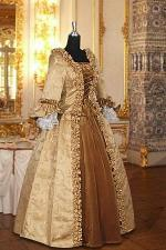 Deluxe Ladies 18th Century Marie Antoinette Masked Ball Costume Size 8 - 12