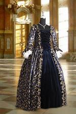 Deluxe Ladies 18th Century Marie Antoinette Masked Ball Costume Size 8 - 12 Image