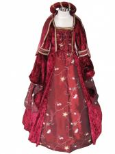 Girl's Deluxe Medieval Tudor Costume Age 9 - 11 Years