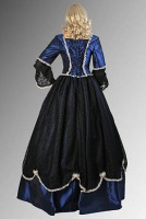 Ladies Black Lacy Masked Ball Venetian Mask