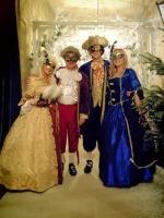 Ladies White Marie Antoinette Masked Ball Pompadour Georgian Wig