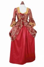 Deluxe Ladies 18th Century Marie Antoinette Masked Ball Costume Size 6 - 8