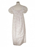 Ladies Victorian Regency White Lacy Gloves