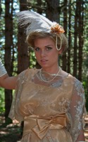 Ladies Long White Satin Over The Elbow Opera Gloves