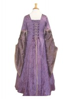 Girl's Medieval Victorian Two Hooped Underskirt Age 7 - 9 Years