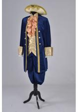 Deluxe Men's 18th Century Masked Ball Georgian Costume