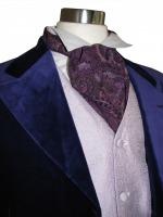 Men's Georgian Regency Edwardian Victorian White Gloves Size Medium