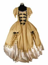 Deluxe Ladies 18th Century Marie Antoinette Georgian Masked Ball Costume Size 10 - 12