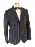 Men's 1920s 1930s Victorian Edwardian Boating Jacket Size Medium