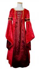 Girl's Deluxe Medieval Tudor Costume Age 7 - 9 Years