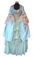 Ladies 18th Century Marie Antoinette Masked Ball Victorian Costume Size 6 - 8