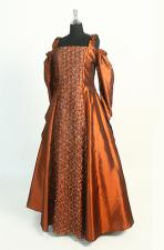 Ladies Medieval Renaissance Costume And Headdress Size 14 - 16