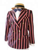 Men's 1920s 1930s Victorian Edwardian Boating Jacket (L)