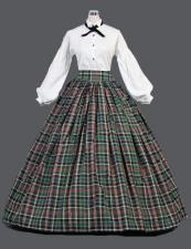 Ladies Victorian Dickensian Carol Singer Day Costume