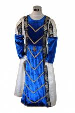 Girl's Deluxe Medieval Tudor Costume Age 8 - 10 Years