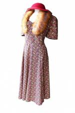 Ladies Wartime Goodwood Costume Size 16 - 18 Image