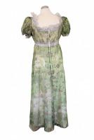 Ladies Jane Austen Regency Straw Poke Bonnet