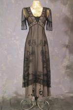 Ladies Edwardian Downton Abbey Titanic Gown Size 8 - 10
