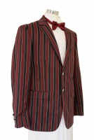Men's Deluxe 1920s 1930s Victorian Edwardian Boating Jacket Costume