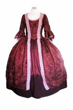 Deluxe Ladies 18th Century Marie Antoinette Masked Ball Costume Size 20 - 22 Image