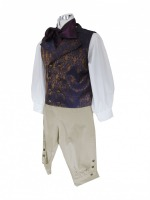 Men's Georgian Regency Edwardian Victorian White Gloves Size X Large